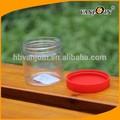 alimentos enlatados y el uso del cuerpo de plástico mini material pet tarro de mermelada