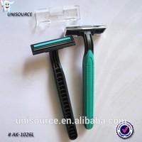 Disposable hotel razors shaving