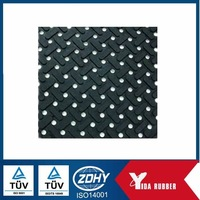 Non slip foot silicone rubber pads for furniture or machines