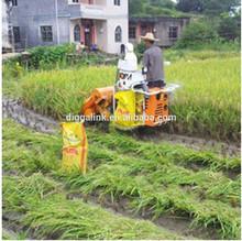 Small corn harvest combine machinery / New corn harvest