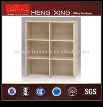 Good quality newly design customized open shelf bookcase