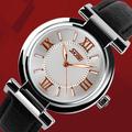 卸売価格skmei9075革のブレスレットと女性の腕時計