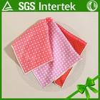 Fancy Pocket Pink Spot Square Handkerchief