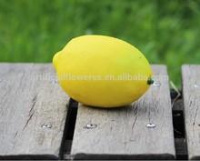 wholesale cheap 2015 artificial fruit lemon for decoration