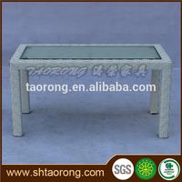 modern living room rattan side table ST-348