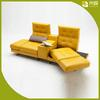Multifunctional deformable furniture Sound system leather sofa