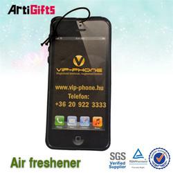 Custom cheap black ice scent paper car air freshener factory cheap price