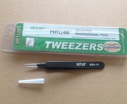 Antistatic Stainless Tweezer ESD-14