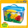 высокое качество abs игрушка кирпича набор строительные модули совместимы с duplo legos