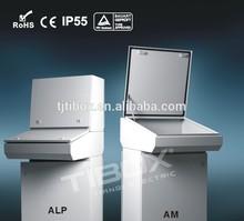 TIBOX electrics cabinet weatherproof enclosure control panel box foldable metal box
