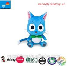 plush fairy toy/plush happy fairy with tail/blue fairy toys