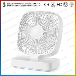 4.7 Inch USB Fan light blue color table fan
