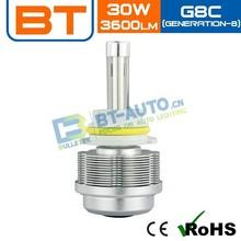 3600 Lumen H7 LED Headlight / H4 LED Headlight Headlight Restoration
