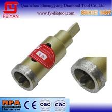 Diamond core bit with fix drilling