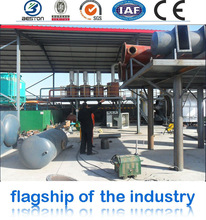 2015 hot selling and high quality scrap tire pyrolysis plant