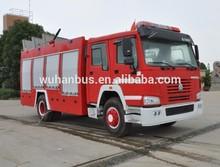 SINOTRUK HOWO water tanker fire truck,fire truck for sale
