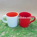 Grés colorido caneca / porcelana sublimação vitrificado canecas whosales bem