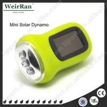 (110035) Portable new emergency light hand crank dynamo generator torch