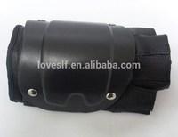 LOVESLF high quality half finger leather gloves Armor tactical protective gloves