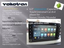 "6.2"" TFT Android4.4 Universal 2 Din Car DVD Radio +GPS+Ipod+3G +Wifi+WLAN+BT"