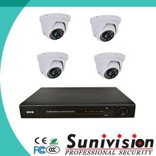 top 10 cctv camera factory china 4CH cctv camera nvr kits