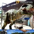 Meu- dino andando adulto carnaval traje de dinossauro