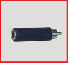 High quality 3.5mm male RCA to 6.35mm female JACK adapter