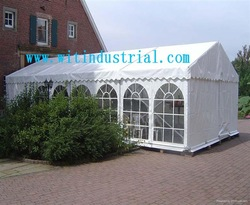 Permanent aluminum frame canvas camping tent for sale