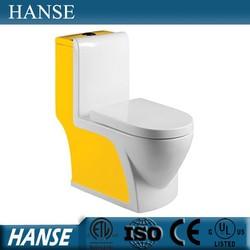 HS-1533D one piece color ceramic toilet bathroom,american standard toilet
