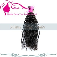 100% Chinese human Hair Kinky Curly, Human Hair Extension