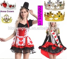 Adult drop ship carnival instylesWalson copyright Ladies mario and luigi mad hatter 3xl size fancy dress queen costumes
