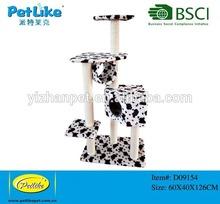 Cow Color Top Indoor Cat Scratching Tree Sisal Post