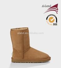 Classic short 5825 Chestnut Australia Lady's Sheepskin snow boots