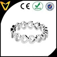 Love Infinite Ring Best Friend Infinity Rings Infinity Jewelry Eternity Stainless Steel Stainless Steel Open Heart Eternity Ring