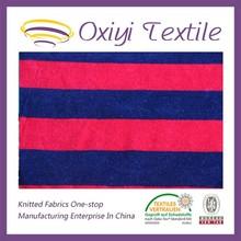 high quality striped velvet upholstery fabric for garment