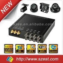 Original Factory anti vibration 4ch/8ch HDD GPS 3G build-in G-sensor wifi School Bus/Taxi/Police Car/Truck Mobile DVR