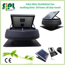 high speed solar attic fan roof ventilator with battery