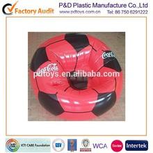 custom PVC/TPU football soccer inflatable corner sofa