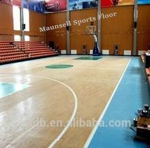 Professional indoor basketball sports vinyl plastic/pvc flooring