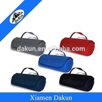 Anti Pill Polar Fleece Blanket with 600 Denier Polyester Flap DK14-2455/Dakun