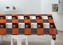 Transparent Plastic PVC Dining Table Cover Rolls/ Vinyl plastic table cloth