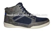 Fashion hi-top sneaker high cut casual shoes in jinjiang factory