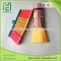 Alta qualidade de plástico vassoura de cerdas, vassoura de filamentos, vassoura de plástico de fibra para a venda