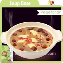 Natural vegetarian frozen hotpot soup base foods for instant noodles