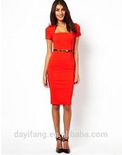 fashion lady office one piece bodycon dress, professional office dress