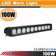 4x4 Single Row automotive 100w cheap led light bars in china,Off Road Working Light,UTV,ATV Bar Light