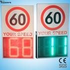 aluminum high-brightness car speed radar detector