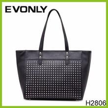 H2806 hand bag manufacturer Leather Bags Woman Stylish Woman Shoulder Bag