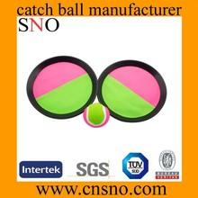 Children catch balls playing set