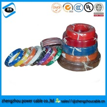 PVC UL1283 electric wire cable FOR INTERNAL WIRING OF APPLIANCES /electric wire color code